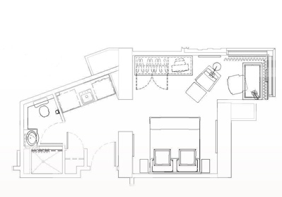 Floor plans for one king west hotel and residence one for 1 king west floor plans
